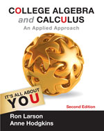 College Algebra and Calculus an Applied Approach 2e