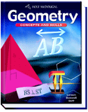 Geometry Concepts and Skills