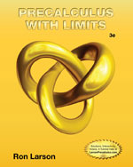 Precalculus with Limits 3rd Edition